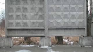 видео производством железобетонных плит в москве