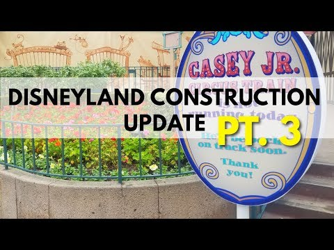 Disneyland Construction update - Small World, Pixar Pier, Dumbo | 02/10/18 pt 3