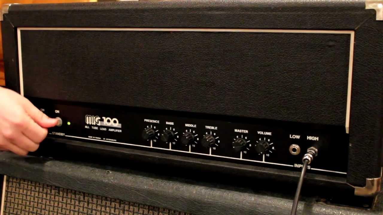 Sovtek Mig 100 U Guitar Amp Head