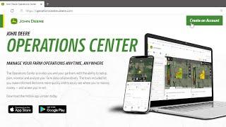 Cómo crear una cuenta MyDeere y una organización del Operations Center | John Deere ES