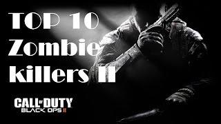 Top ten zombie killers in the world post black ops 2