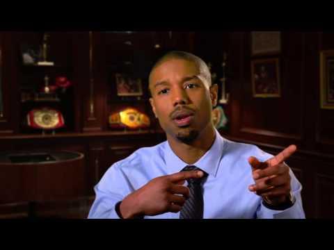 "Creed: Michael B. Jordan ""Adonis Johnson"" Behind the Scenes Movie Interview"