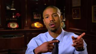 "Creed: Michael B. Jordan ""Adonis Johnson"" Behind the Scenes Movie Interview"