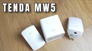 Jak pokryć 300m2 siecią Wifi? Tenda Nova MW5 -  TEST