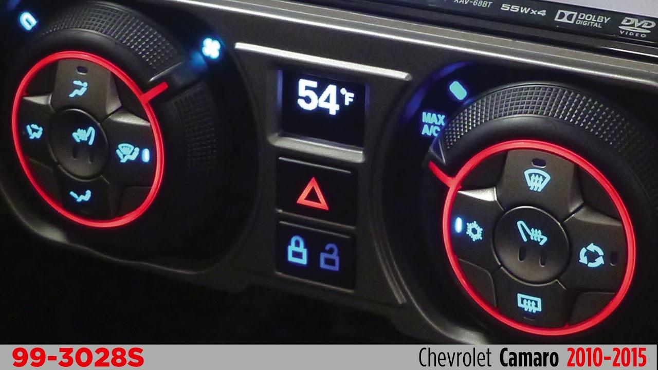 2010-2015 Chevrolet Camaro Touchtronix Dash Kit 99-3028s