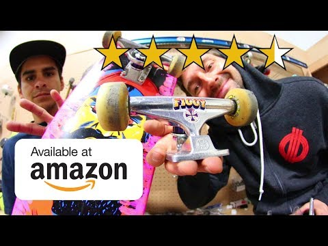 THE BEST REVIEWED SKATEBOARD TRUCKS ON AMAZON!