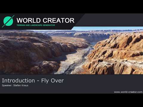 World Creator 2 - Fly Over