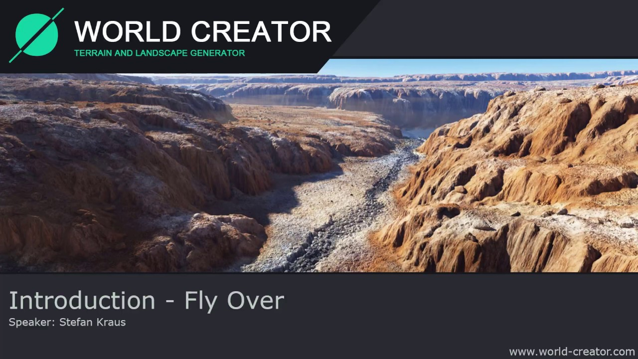 World Creator 2 - Fly Over