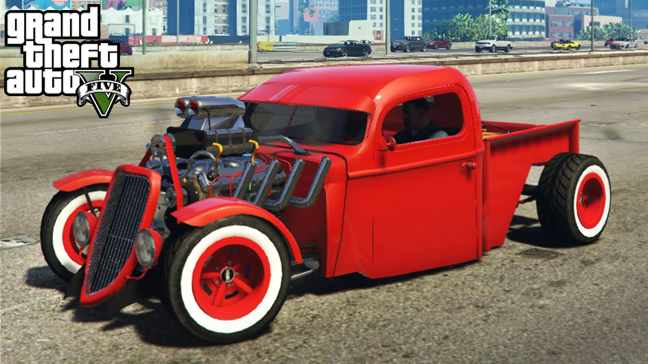 gta 5 amazing 1936 ford hot rod mod customization gameplay gta v pc mods youtube. Black Bedroom Furniture Sets. Home Design Ideas