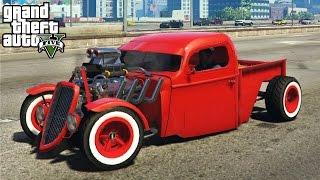 ★ GTA 5 - AMAZING 1936 Ford Hot Rod Mod! Customization & Gameplay (GTA V PC Mods)