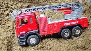 Fire trucks, garbage trucks, concrete mixers B431S - Toys for kids