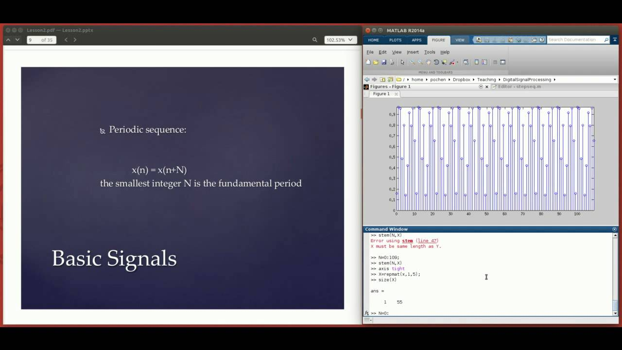 Digital Signal Processing Using Matlab 1 (Basic Signals and Operations)
