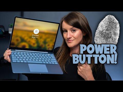 Fingerprint Power Button + Fav Keyboard Yet? | Surface Laptop Go!