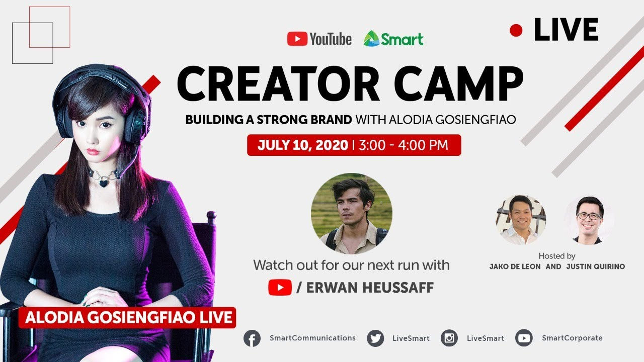 Creator Camp 2020 - Building a Strong Brand with Alodia Gosiengfiao