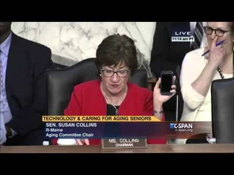 Jitterbug Touch3 featured at U.S. Senate Special Committee on Aging