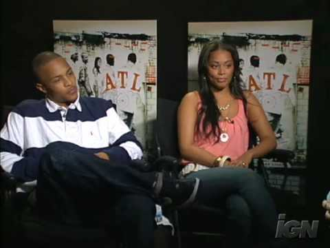 T.I. & Lauren London Interview ATL Movie