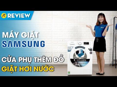 Máy Giặt Samsung Addwash 10 Ký: Có Giặt Hơi Nước, Cửa Phụ Thêm đồ (WW10K44G0YW/SV) • Điện Máy XANH