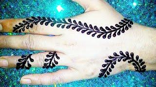 Simple Stylish Back Hands Mehndi design 2019||Rakhi special Mehndi designs||new latest Arabic Mehndi