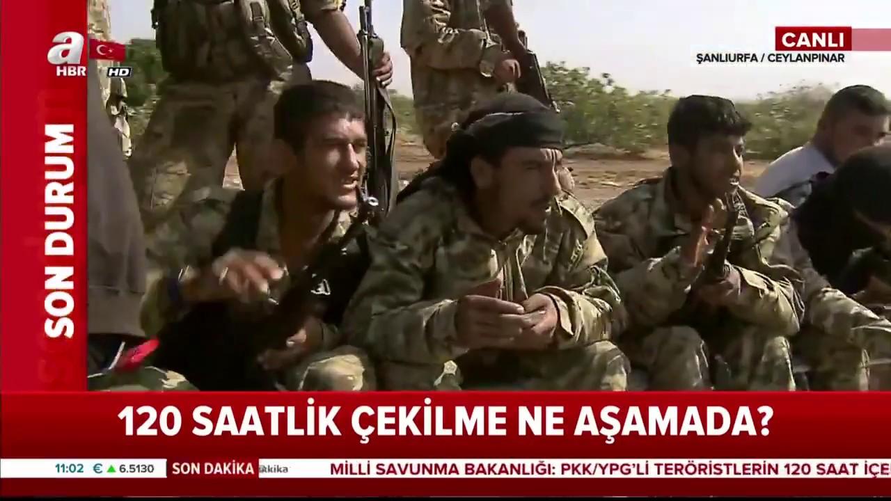 Suriye Milli Ordusu Askerleri Sınırda / Son Durum / A Haber