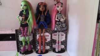 Monster High Collection Update 2012