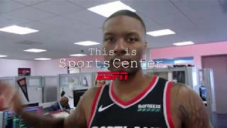 "Damian Lillard's ""This Is SportsCenter"" Commercials"