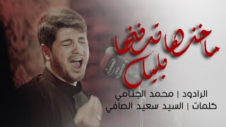 ماخذها تدفنها بليل | محمد الجنامي