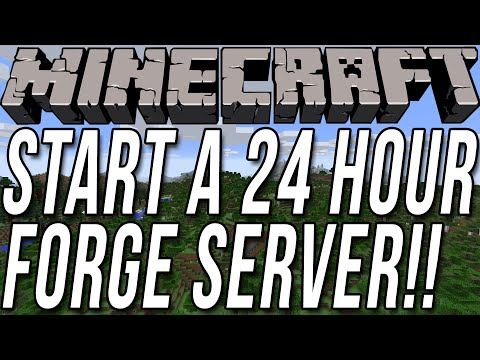 How To Start Hour Minecraft Forge Server