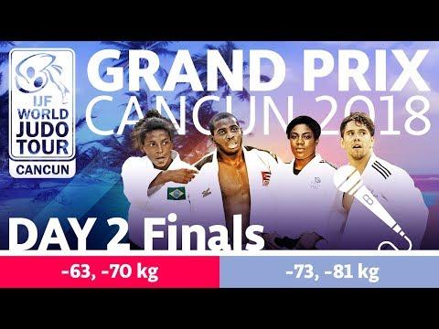 Judo Grand-Prix Cancun 2018: Day 2 - Final Block