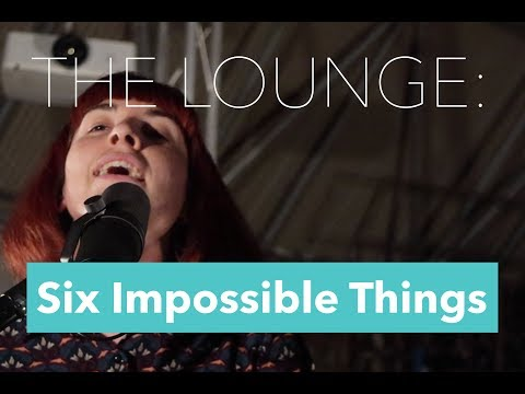 THE LOUNGE: Six Impossible Things - Supersonic | Oasis Cover (Live)
