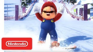 Mario & Sonic at the Sochi 2014 Olympic Winter Games -- July Trailer