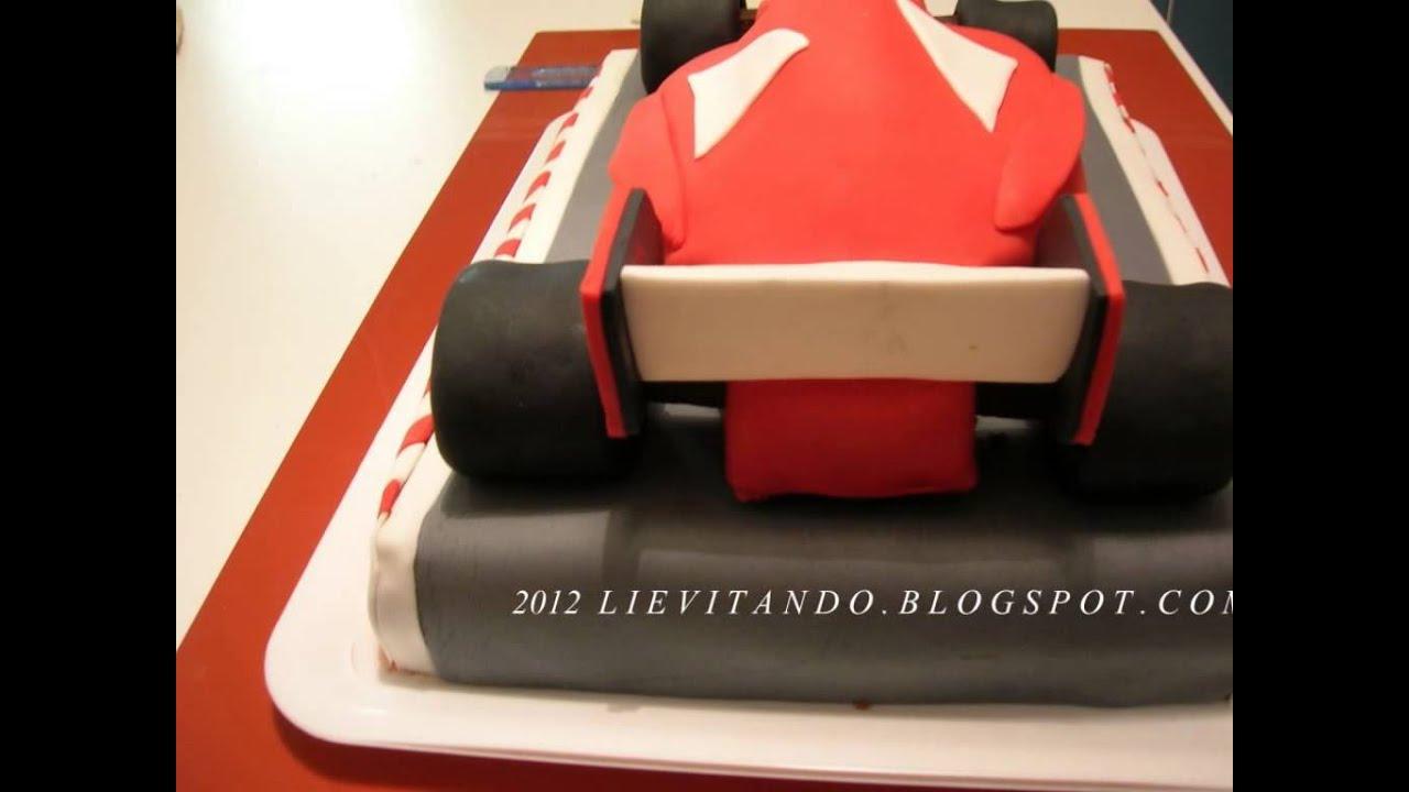 Car ferrari car shape fondant cake youtube car ferrari car shape fondant cake baditri Gallery