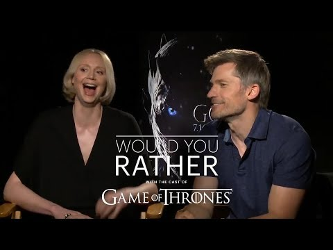 """The Cast of Game of Thrones Plays """"Would You Rather"""""""