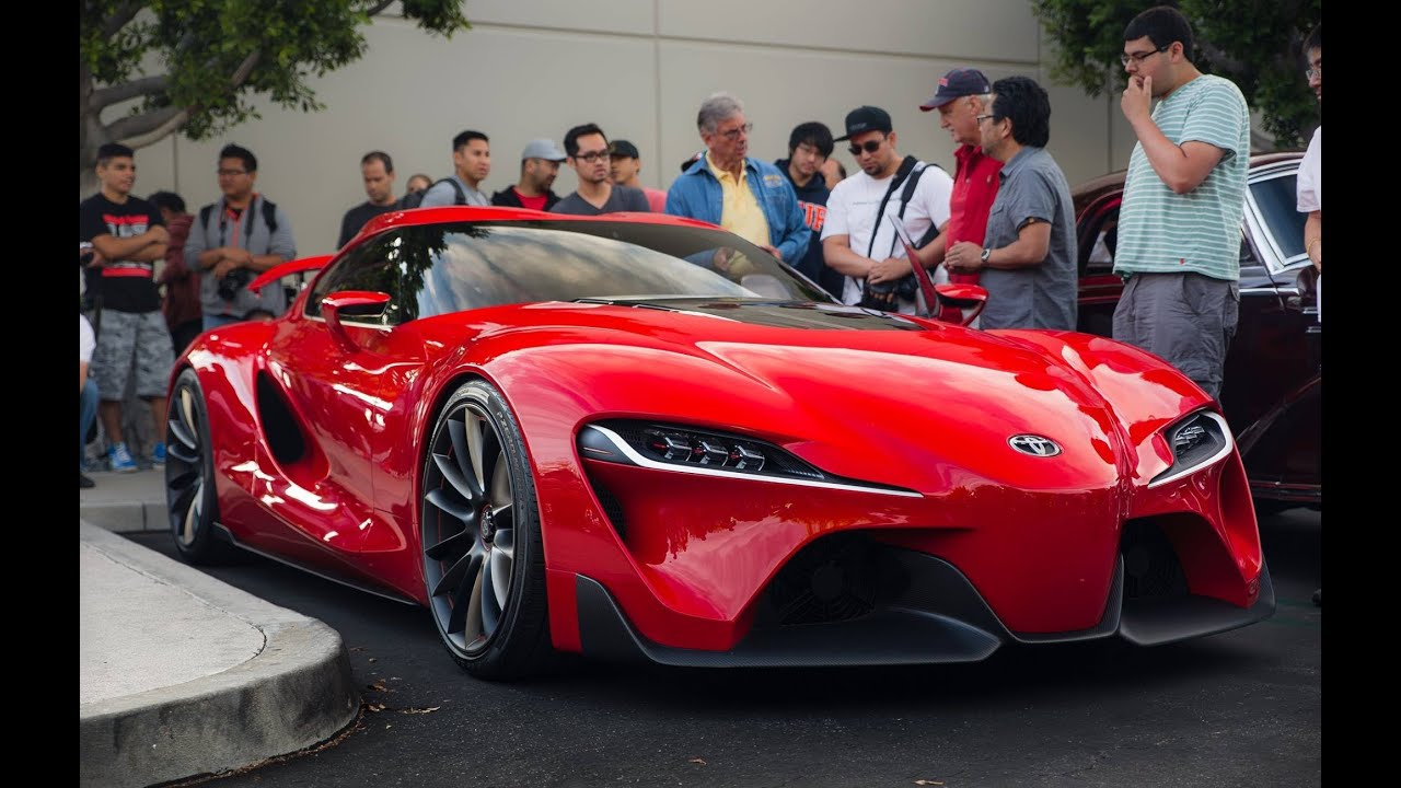 Toyota FT 1 Concept the Road DRIVING INTERIOR & EXTERIOR