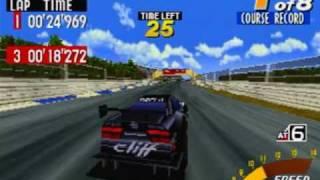 Sega Touring Car Championship Game Sample - Sega Saturn