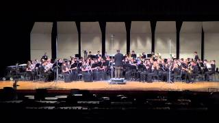 """Symphonic Prelude on Adeste Fidelis"" - Hebron HS Symphonic Band 12/16/2013"