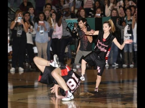 Alyson Stoner break dancing at Santiago High School