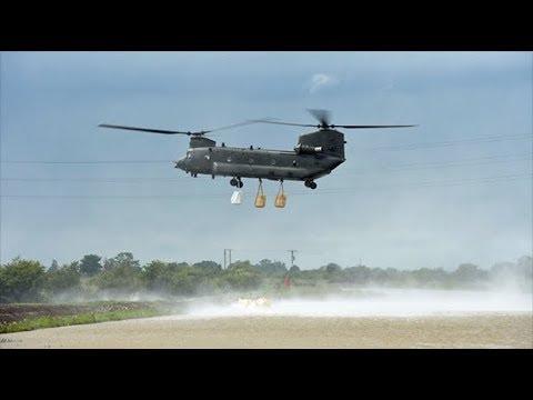 RAF Scramble To Lincolnshire Amid Devastating Floods