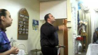 Evg. Peter Aleman III ministering in Pro-templo service Part 4