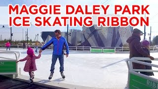 Maggie Daley Park Ice Skating Ribbon - Opening Day 2015