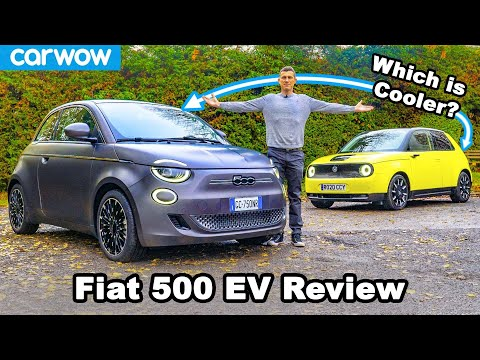 New Fiat 500 Electric review – better than the Honda e?