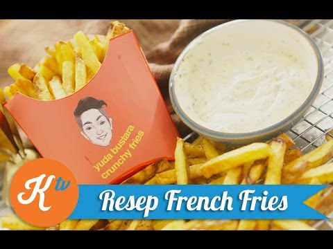ini dia rahasia kentang goreng crispy ala kfc  French fried ala kfc.