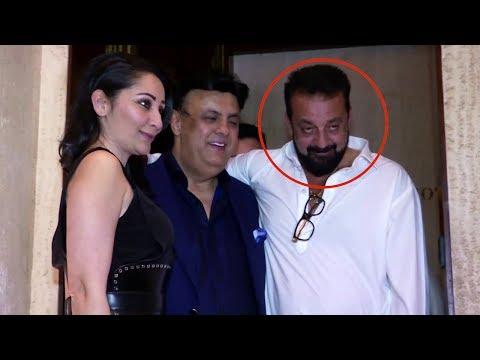 Drunk Sanjay Dutt's Funny Moments At Manish Malhotra Party