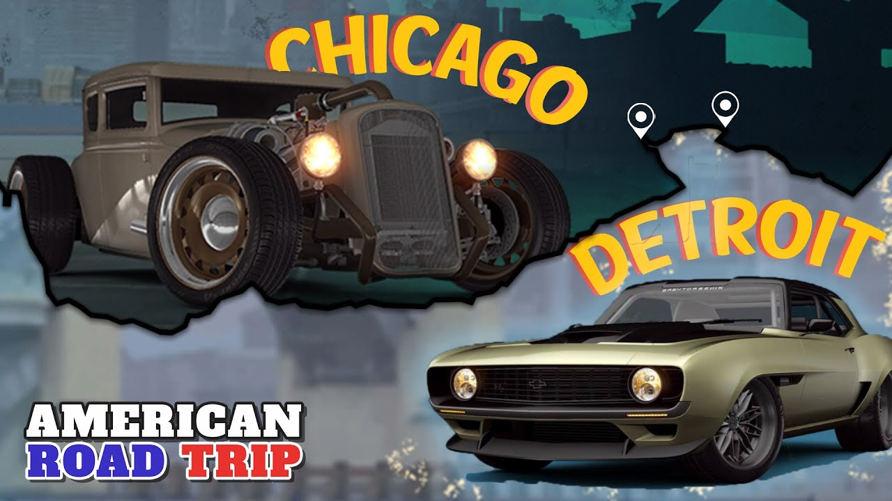CSR Racing 2 | American Roadtrip: Detroit Motor City & Chicago Showdown! Great But Why Paid Crates?!