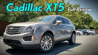 2018 Cadillac XT5: Full Review | Platinum, Premium Luxury & Luxury