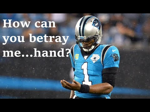 Cam Newton's Lazyness + Bad Coaching Cost Panthers the Game (Car vs TB Sept, 12/2019)