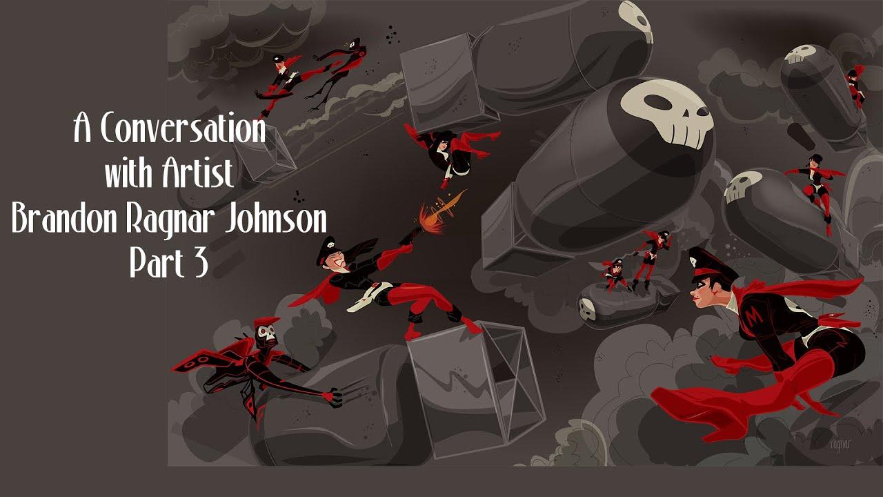 Brandon Ragnar Johnson Art
