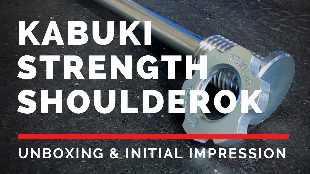 Kabuki Strength ShoulderRok V3 | Unboxing and Initial Impression | Strongman Gym Equipment Review