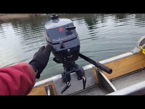 1990 Evinrude 3hp Outboard Motor Pond Test