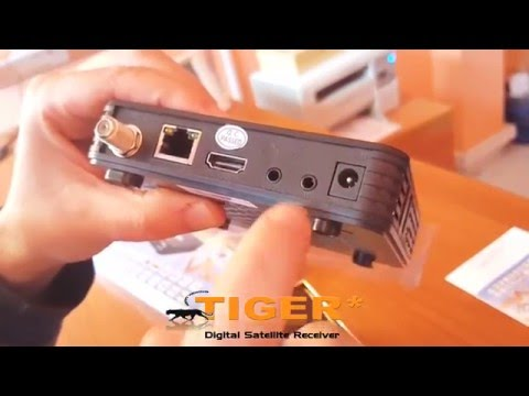 Unboxing and Tutorial Receiver Tiger V500