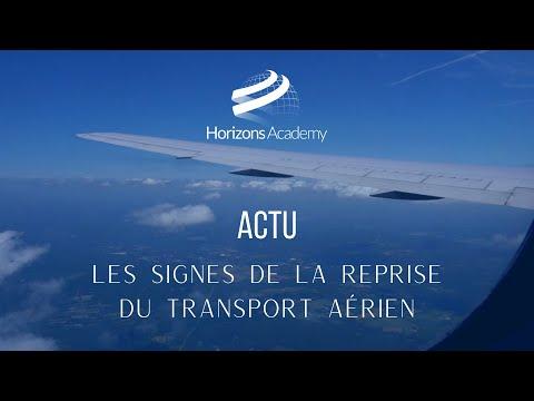 LES SIGNES DE LA REPRISE DU TRANSPORT AÉRIEN